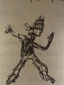 sketch bruce-lee mind